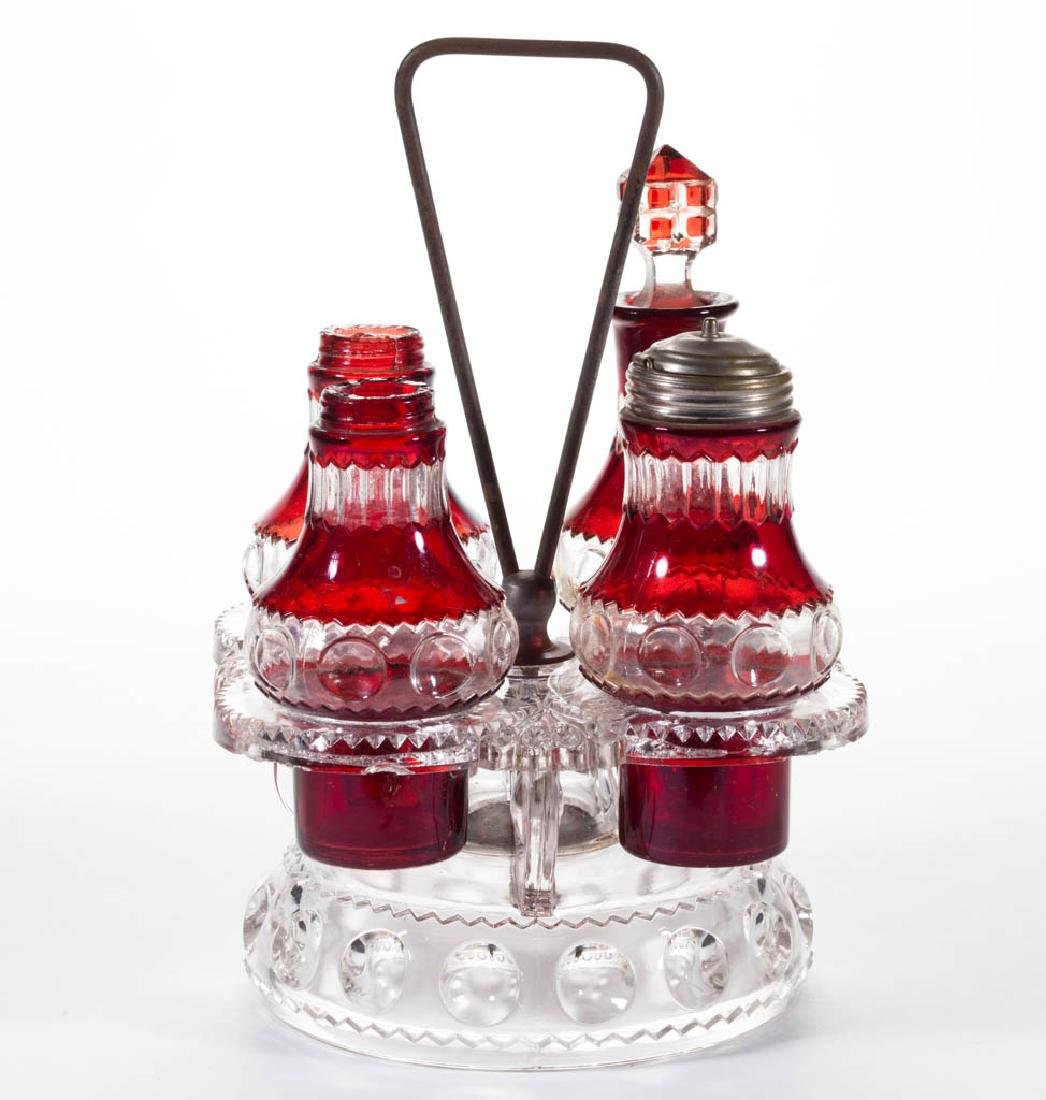 KING'S CROWN / EXCELSIOR (OMN) - RUBY-STAINED ASSEMBLED
