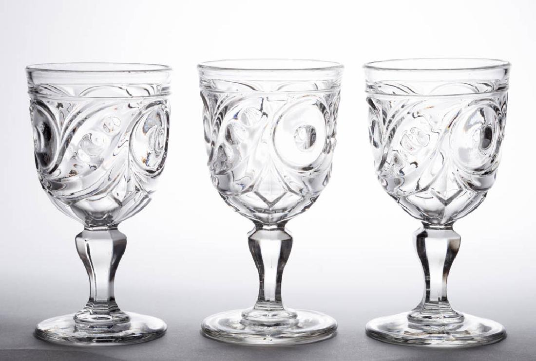 COMET LARGE GOBLETS, LOT OF THREE