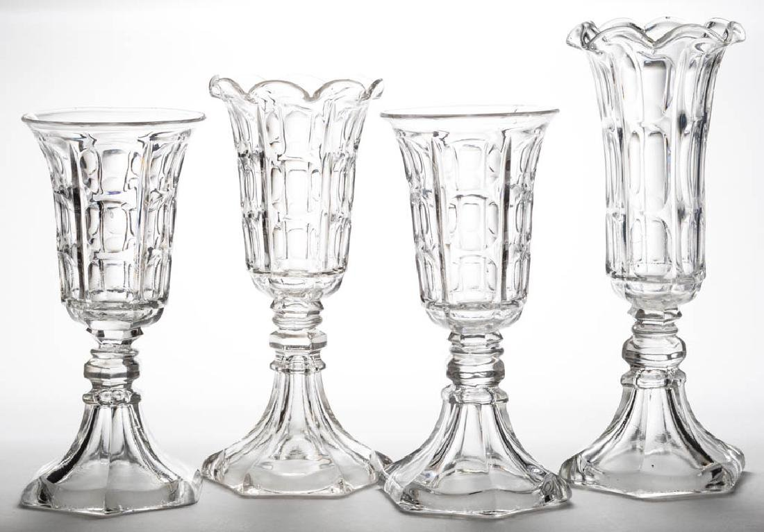 BIGLER VASES, LOT OF FOUR
