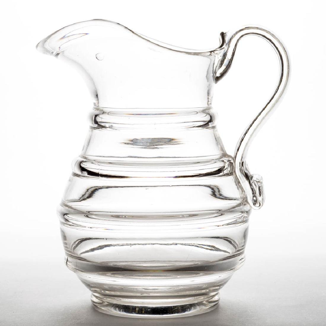 BLOWN-MOLDED FOUR RING WATER PITCHER