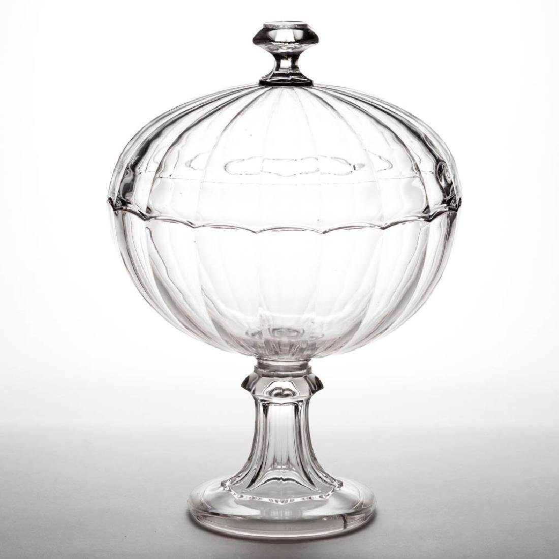 HUBER / CRYSTAL LARGE COVERED COMPOTE
