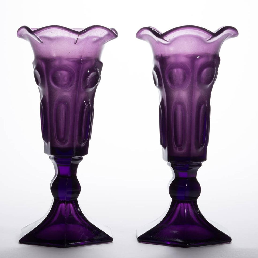 CIRCLE AND ELLIPSE PAIR OF VASES