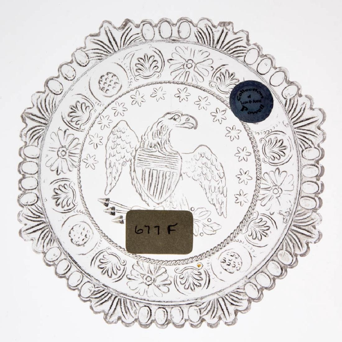 LEE/ROSE NO. 677-F CUP PLATE