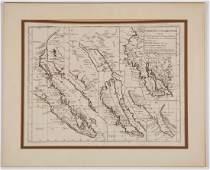 DIDIER ROBERT DE VAUGONDY FRENCH 16881766 MAP OF