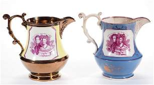 ENGLISH COPPER / PINK LUSTRE HISTORICAL