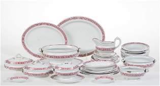 ENGLISH CHILDREN'S TOY CERAMIC TEA SET, LOT OF 35