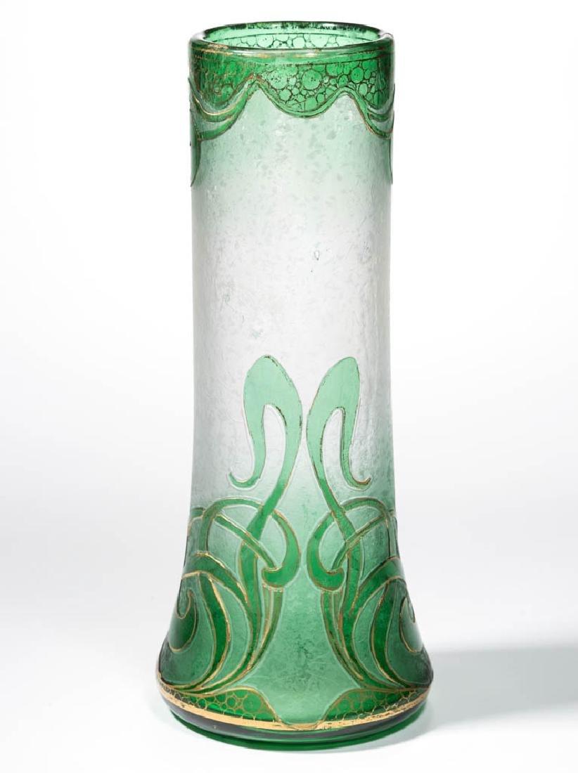 DORFLINGER HONESDALE CAMEO ART GLASS VASE