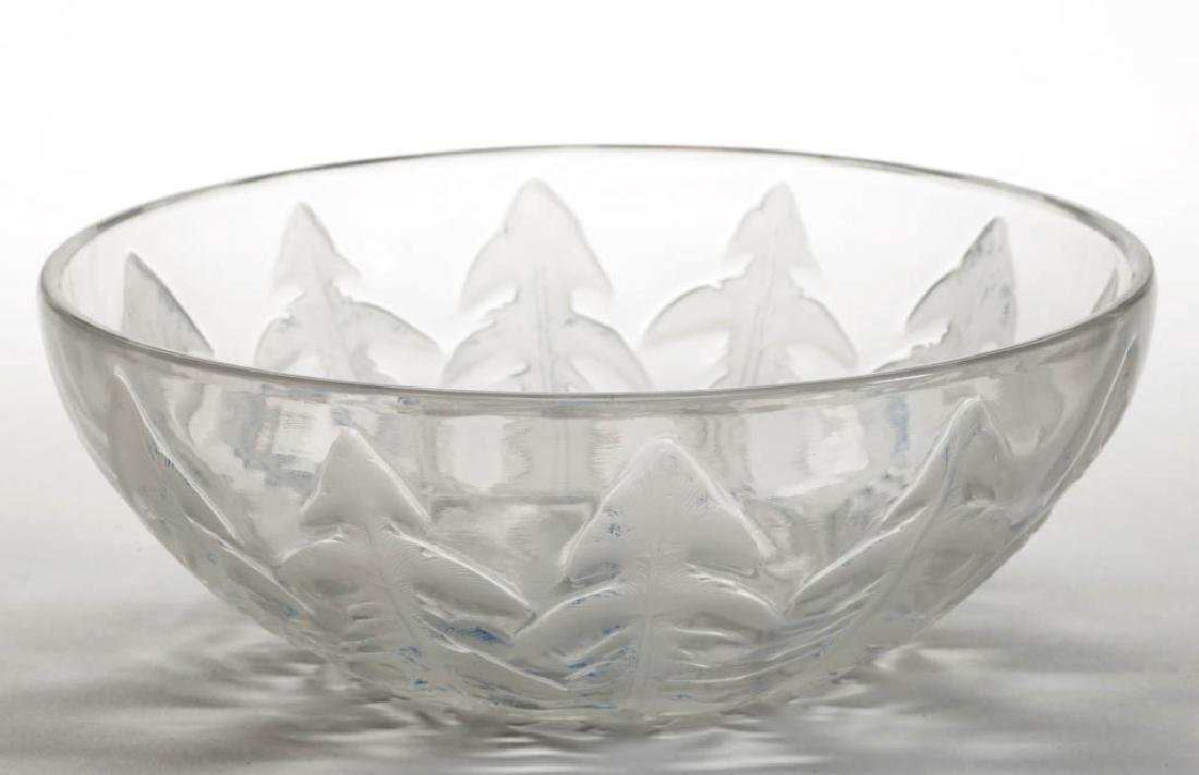 LALIQUE PISSENLIT ART GLASS BOWL