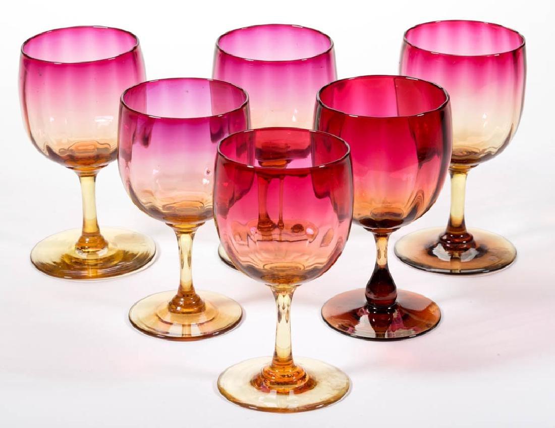 AMBERINA PANEL-OPTIC WINES, LOT OF SIX