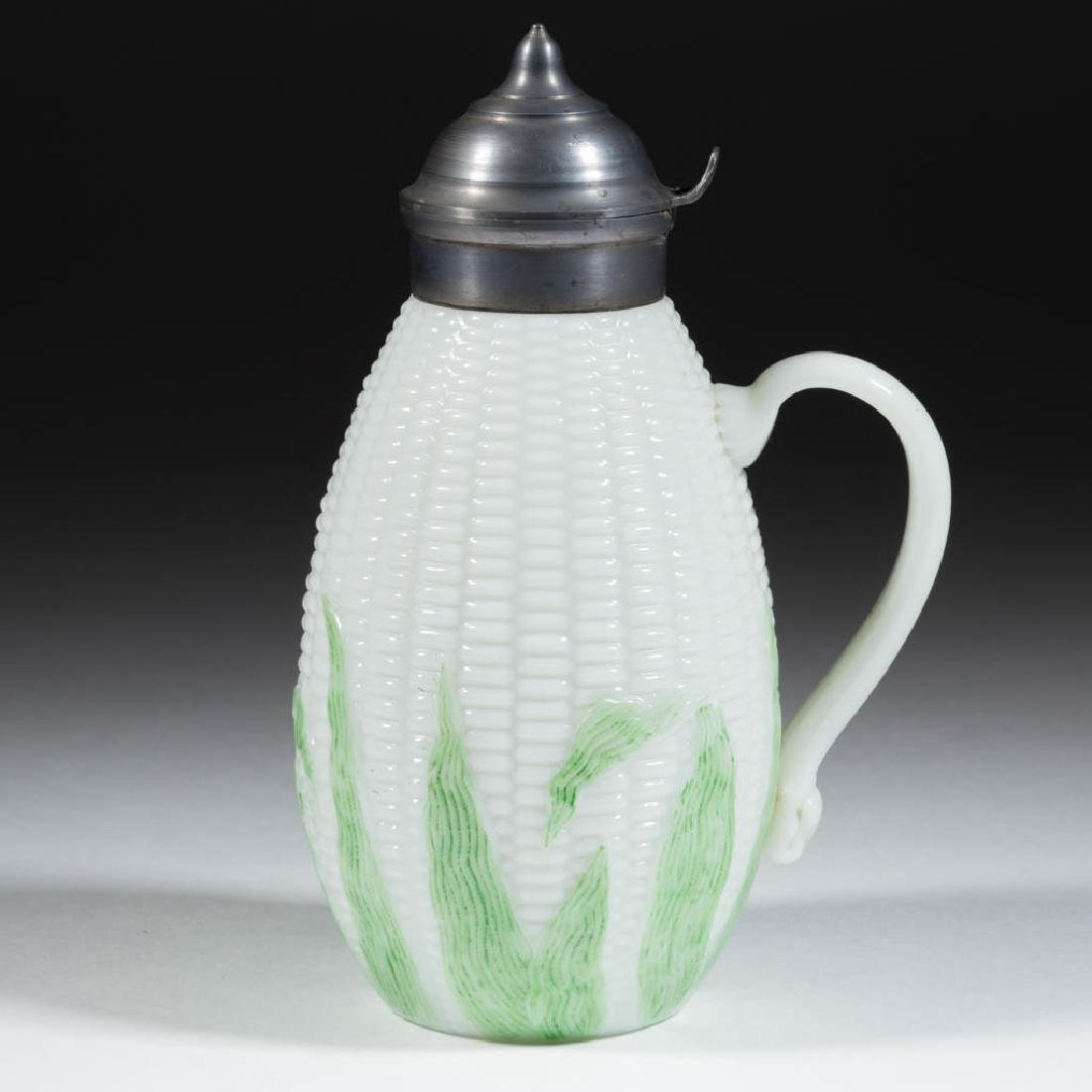 LIBBEY'S MAIZE SYRUP PITCHER