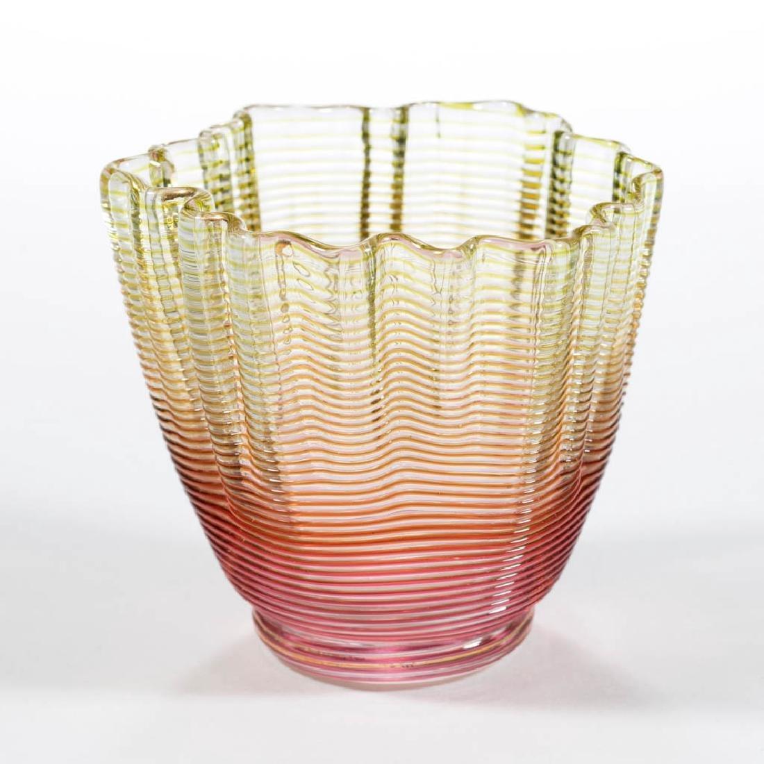THREADED-GLASS TOOTHPICK HOLDER