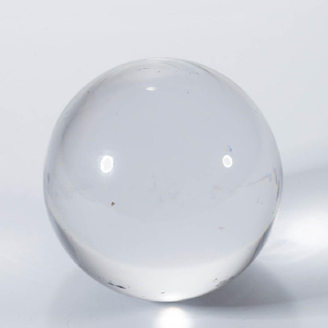 ANTIQUE TRANSPARENT LARGE MARBLE