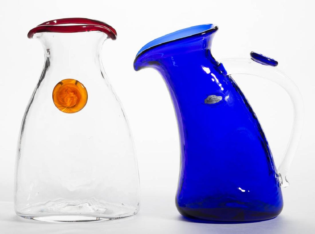 BLENKO GLASS VARIATIONS SERIES - WAYNE HUSTED DESIGNED