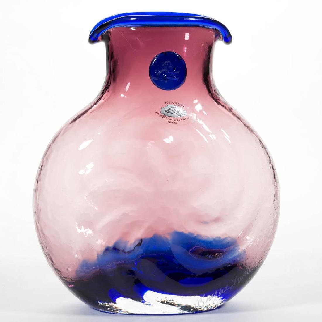 BLENKO GLASS VARIATIONS SERIES - WAYNE HUSTED VASE