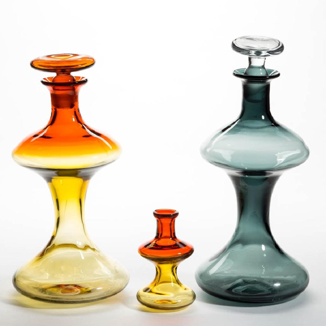 BLENKO NO. 5719 GLASS - WAYNE HUSTED MUSHROOM