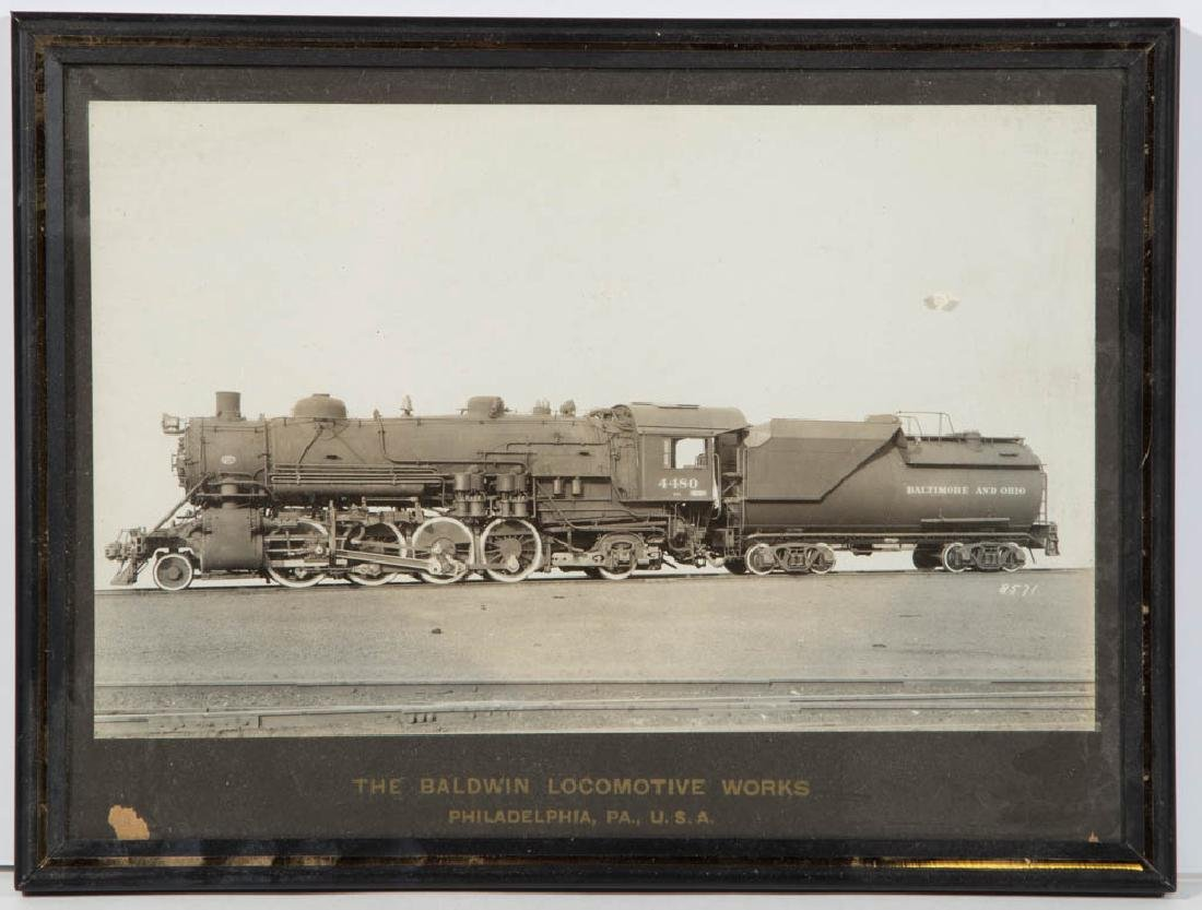 ASSORTED RAILROAD PHOTOGRAPHS, LOT OF FOUR - 2