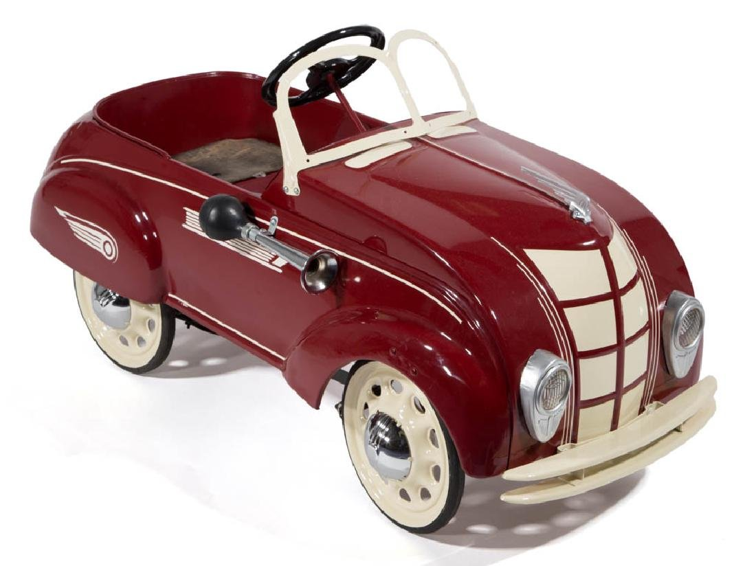 STEELCRAFT CHRYSLER AIR FLOW PRESSED-STEEL PEDAL CAR