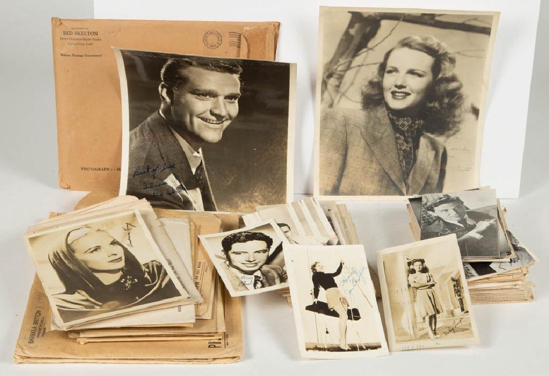 ASSORTED VINTAGE MOVIE ACTOR AND ACTRESSES PHOTOS
