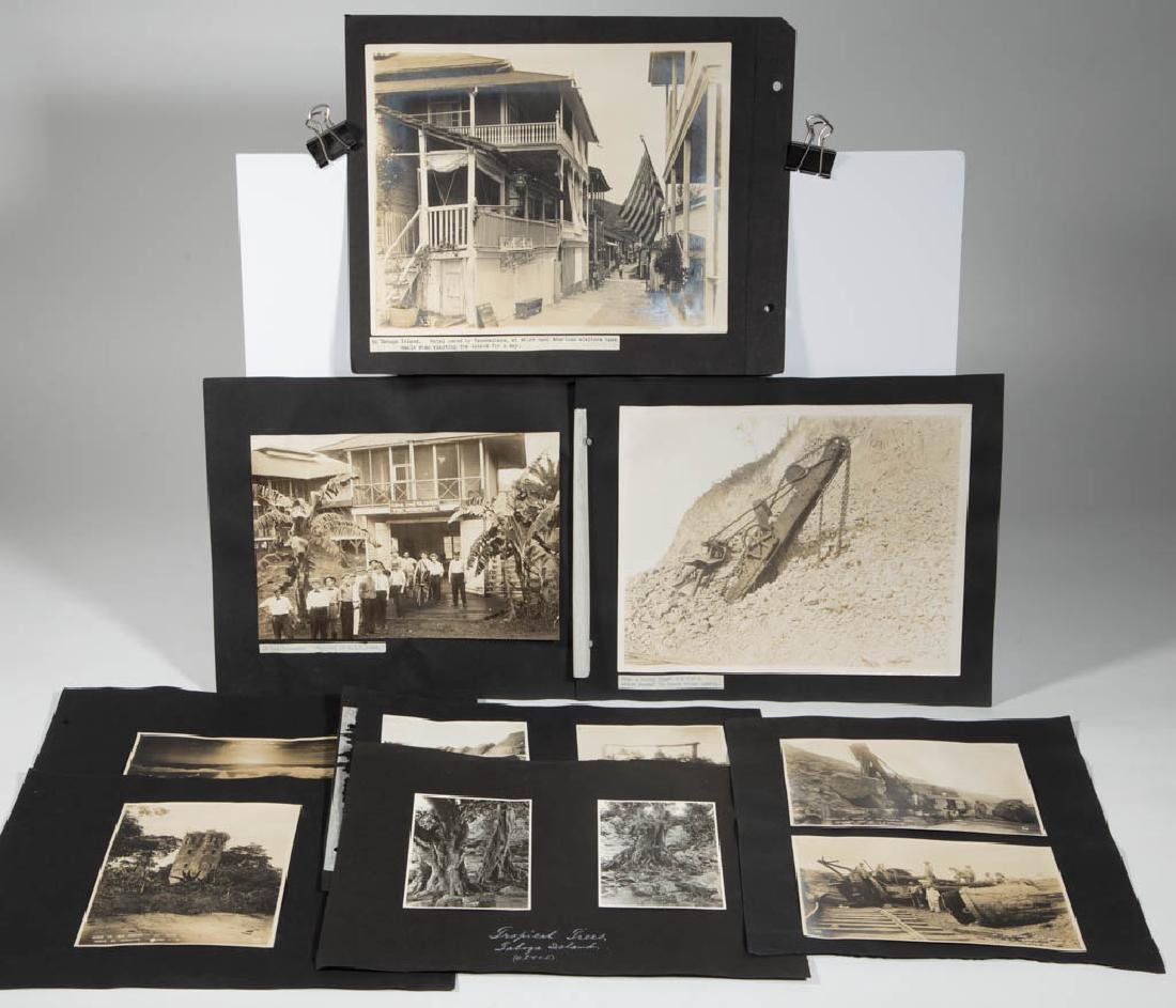 GROUP OF VINTAGE PANAMA CANAL PHOTOS