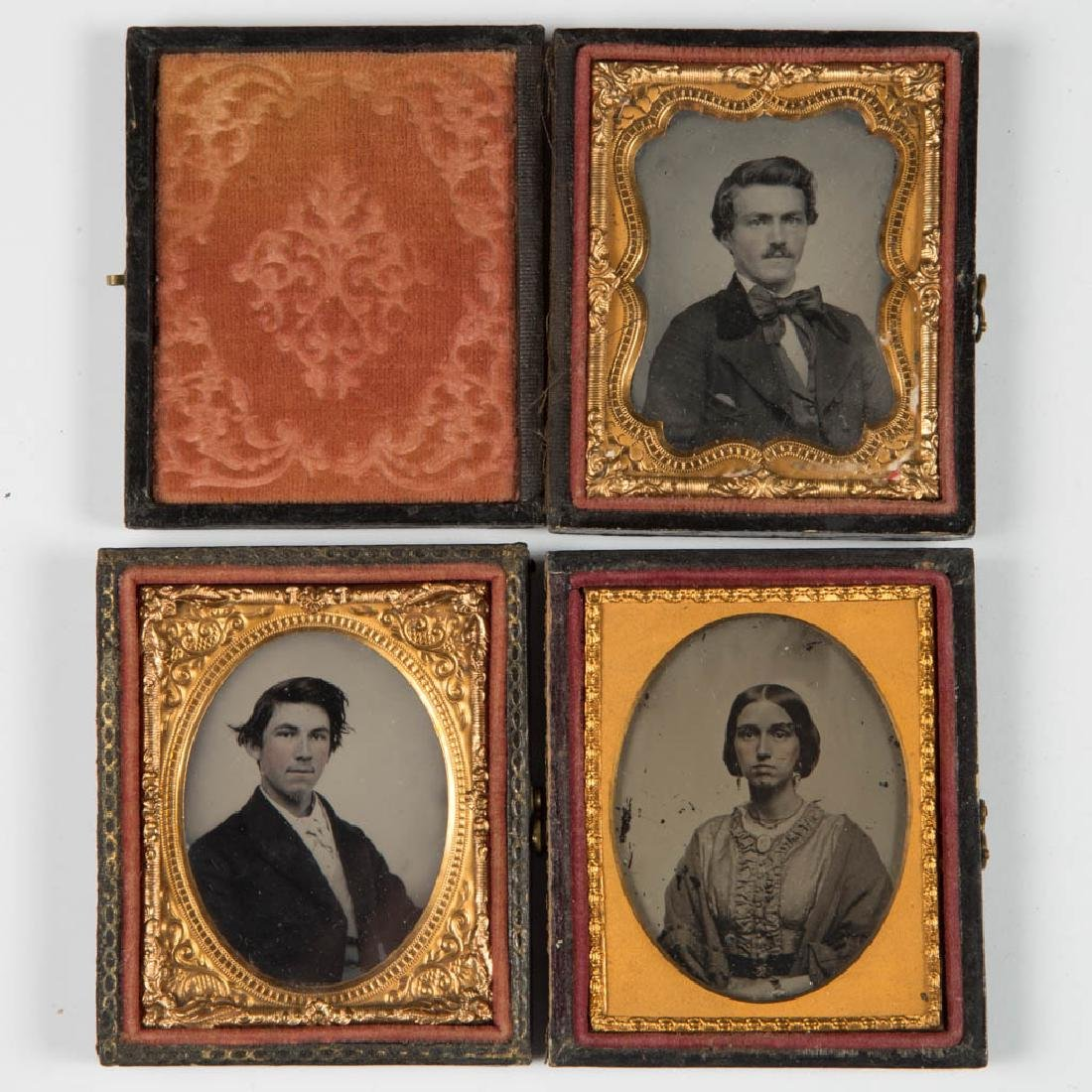 ASSORTED CASED PHOTOGRAPHIC IMAGES, LOT OF EIGHT - 2