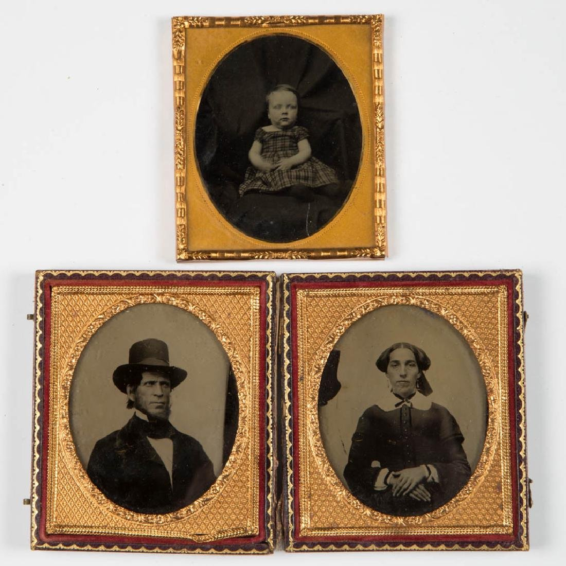 ASSORTED CASED PHOTOGRAPHIC IMAGES, LOT OF EIGHT - 4
