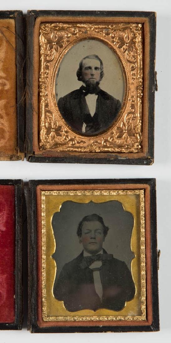 ASSORTED CASED PHOTOGRAPHIC IMAGES, LOT OF 12 - 4