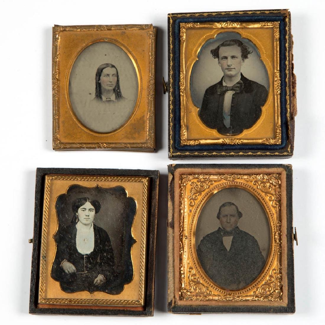 ASSORTED CASED PHOTOGRAPHIC IMAGES, LOT OF 14 - 3