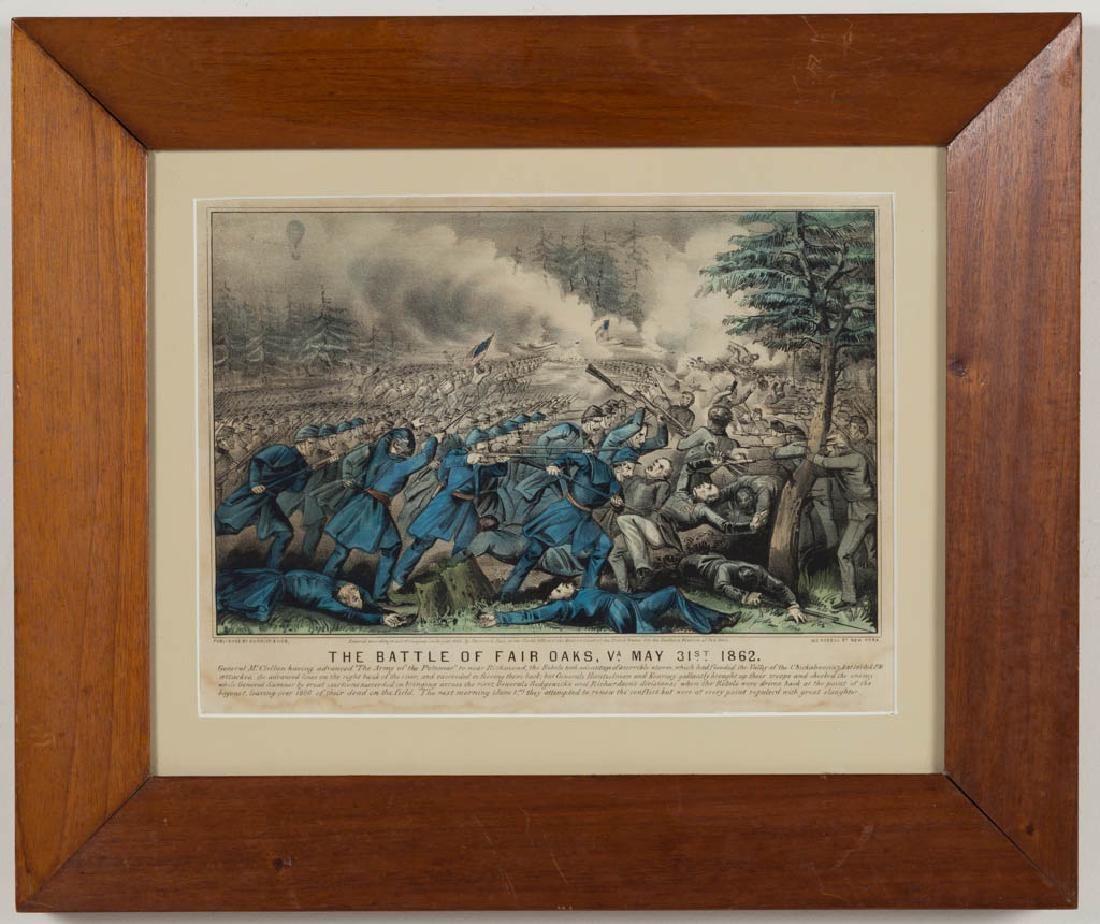CURRIER & IVES CIVIL WAR HISTORICAL PRINT