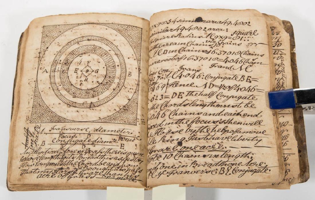 ENGLISH 18TH CENTURY MANUSCRIPT COPY BOOK - 2