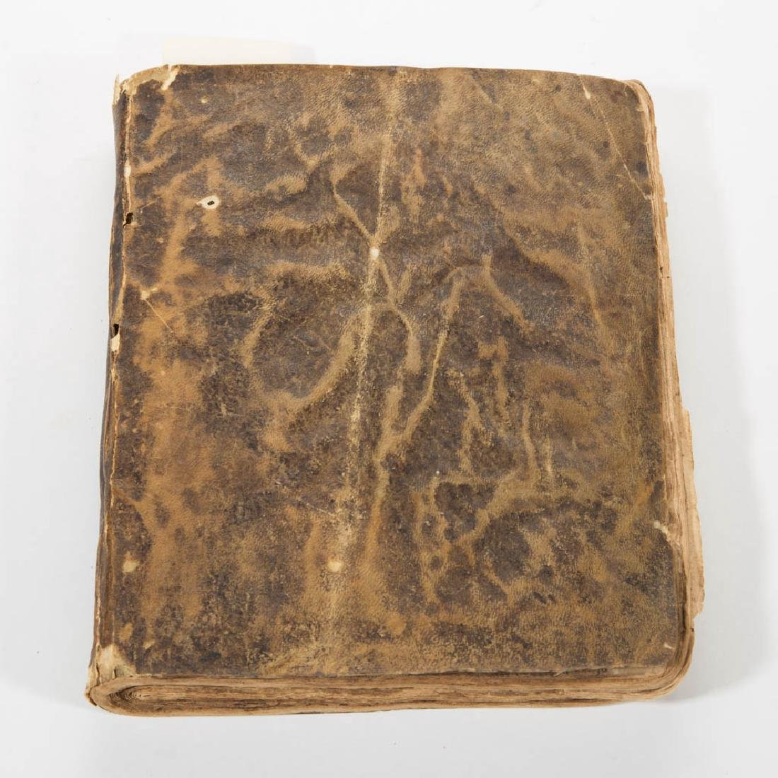 ENGLISH 18TH CENTURY MANUSCRIPT COPY BOOK - 4