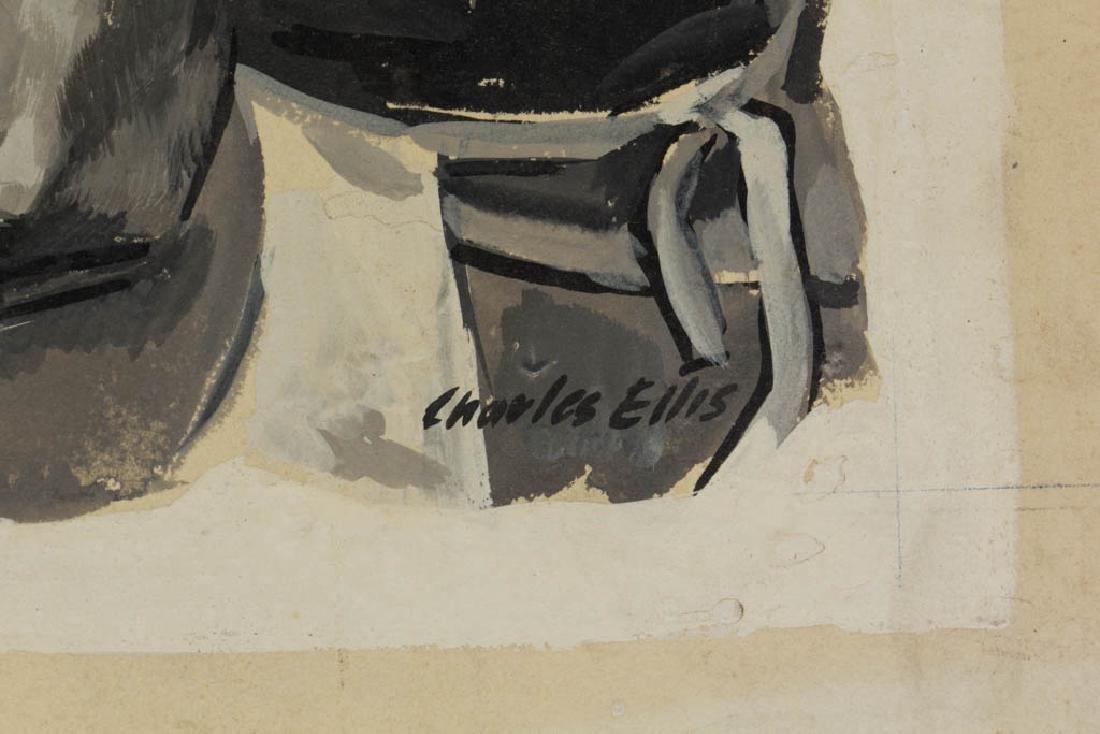 CHARLES ELLIS (AMERICAN, 1922-2004) ORIGINAL - 2