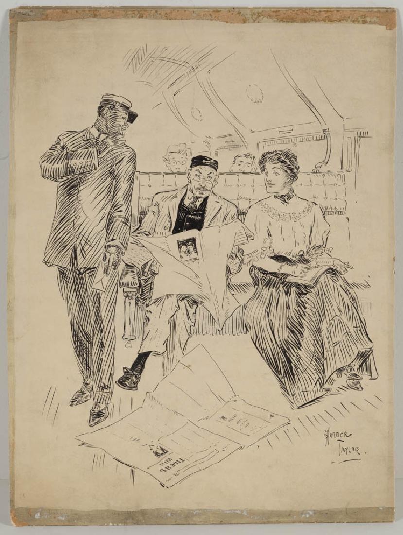 HORACE TAYLOR (AMERICAN, 1865-1921) ORIGINAL