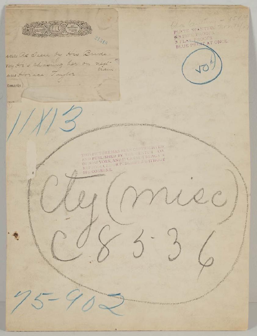 HORACE TAYLOR (AMERICAN, 1865-1921) ORIGINAL - 3