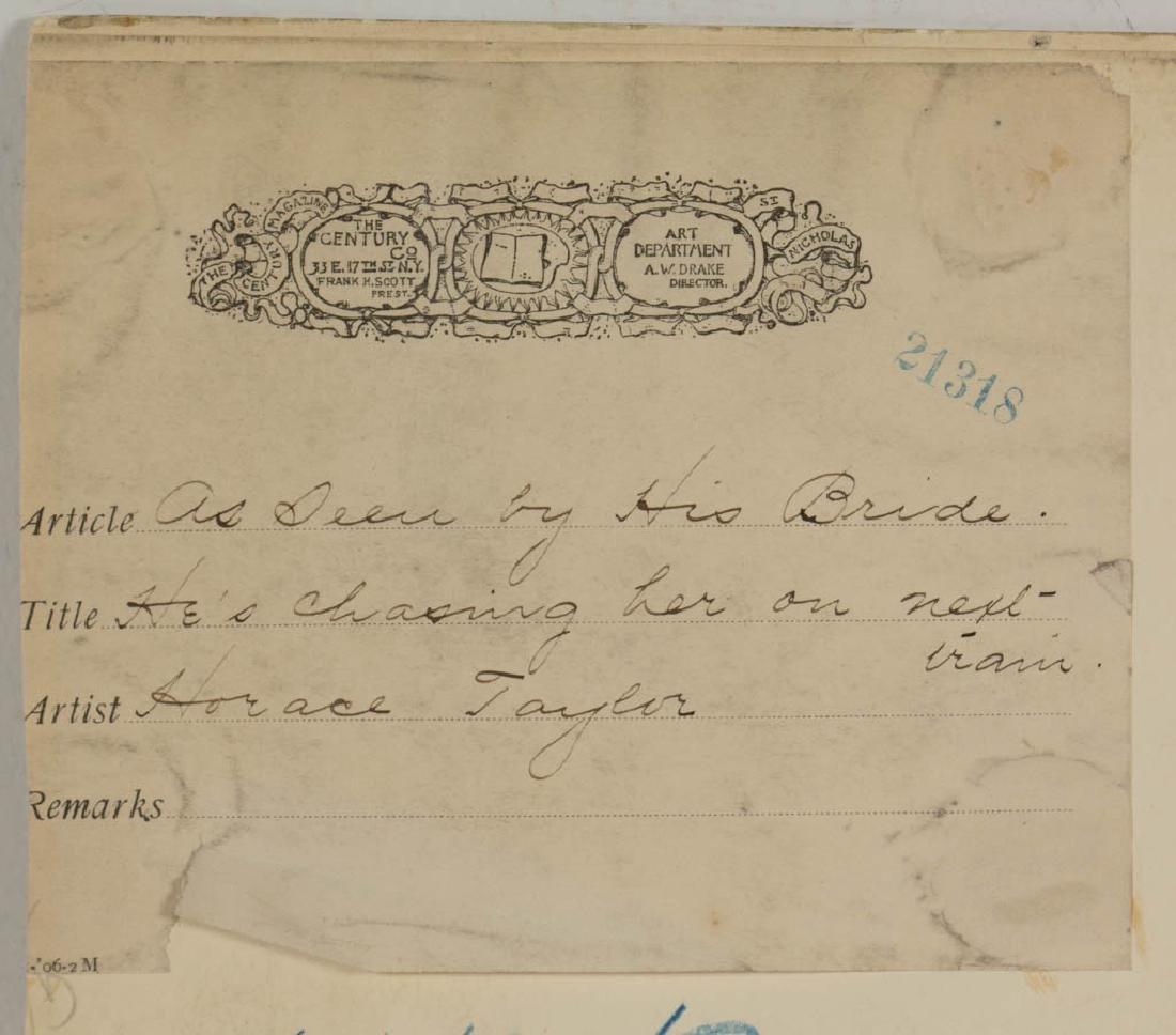 HORACE TAYLOR (AMERICAN, 1865-1921) ORIGINAL - 4