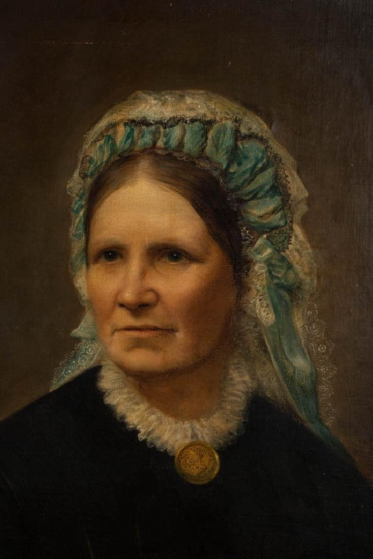 AMERICAN OR BRITISH SCHOOL (19TH CENTURY) PORTRAIT OF A - 2