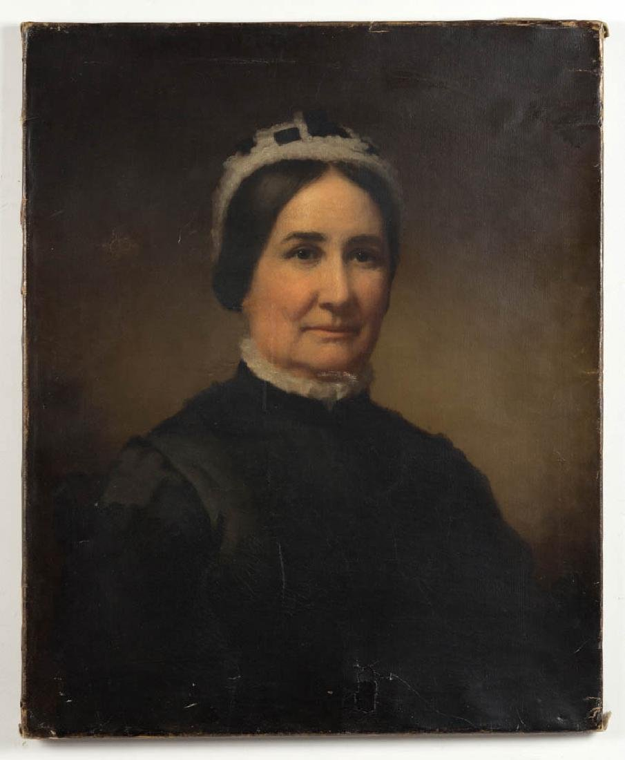 AMERICAN OR BRITISH SCHOOL (19TH CENTURY) PORTRAIT OF A