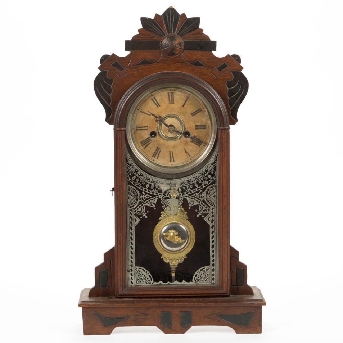 F. KROEBER KITCHEN SHELF CLOCK