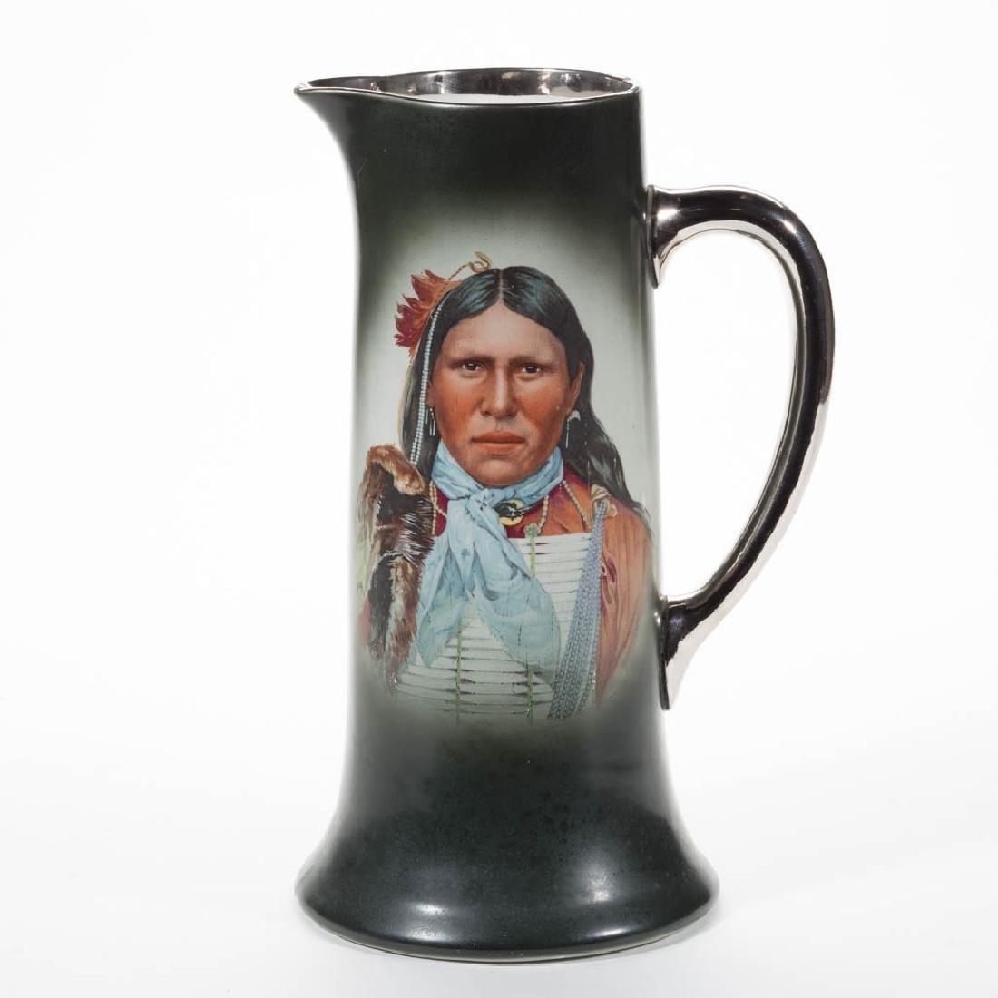 AMERICAN TRENTON, NEW JERSEY NATIVE AMERICAN INDIAN