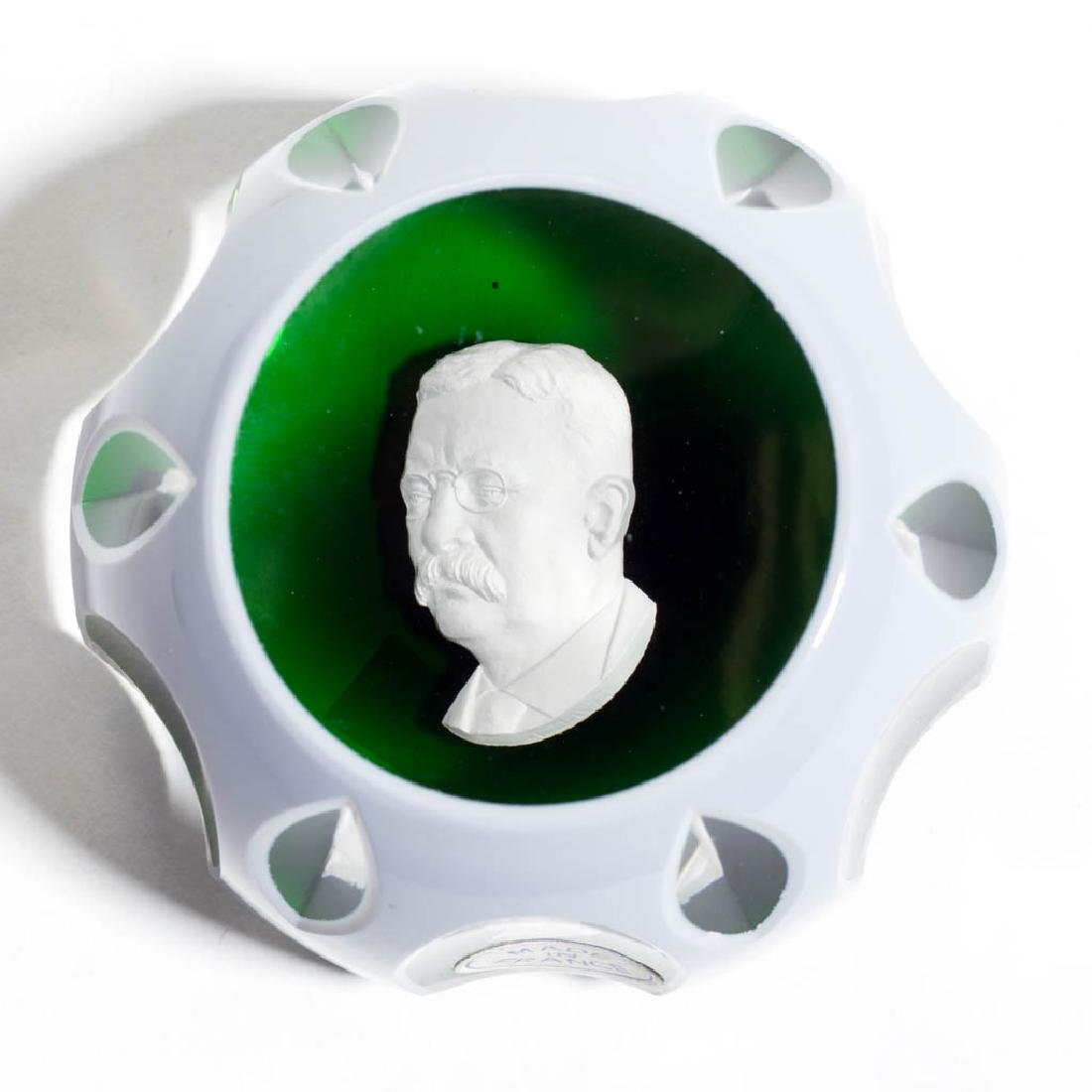 CONTEMPORARY BACCARAT THEODORE ROOSEVELT OVERLAY