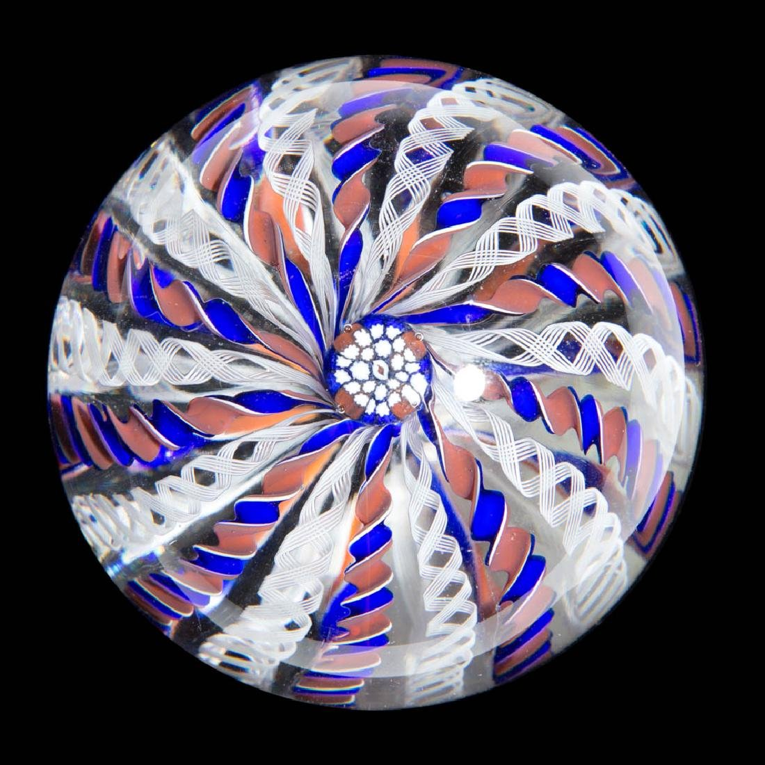 CONTEMPORARY PERTHSHIRE CROWN PAPERWEIGHT