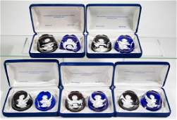 FRANKLIN MINT THE BICENTENNIAL COLLECTION SULPHIDE