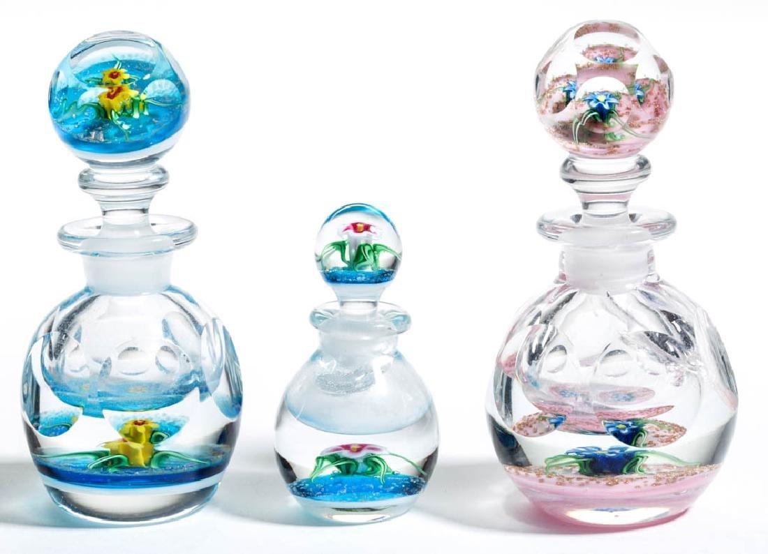 CHARLES KAZIUN STUDIO ART GLASS LAMPWORK PAPERWEIGHT