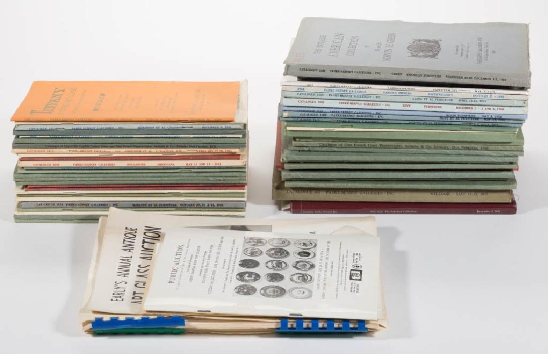 ASSORTED PAPERWEIGHT AUCTION CATALOGUES, APPROXIMATELY