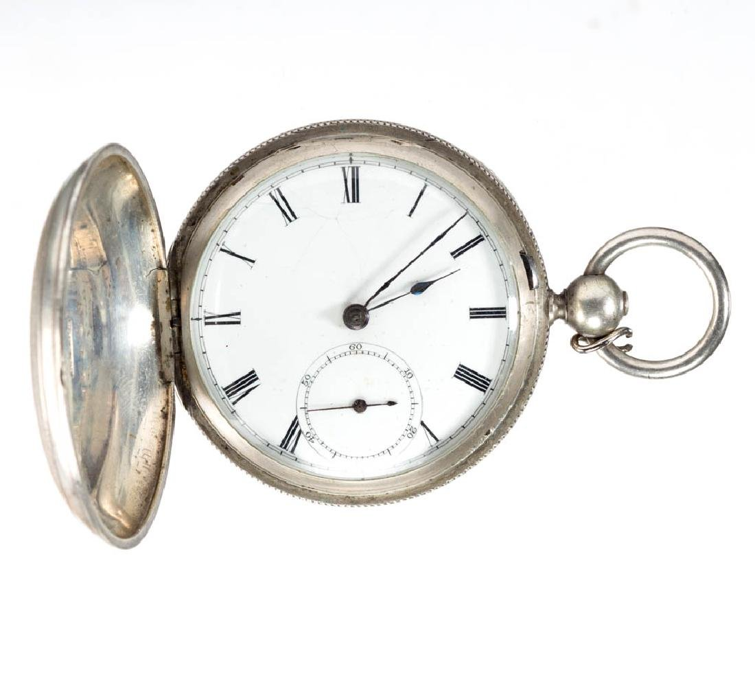 WALTHAM 11-JEWEL MAN'S POCKET WATCH