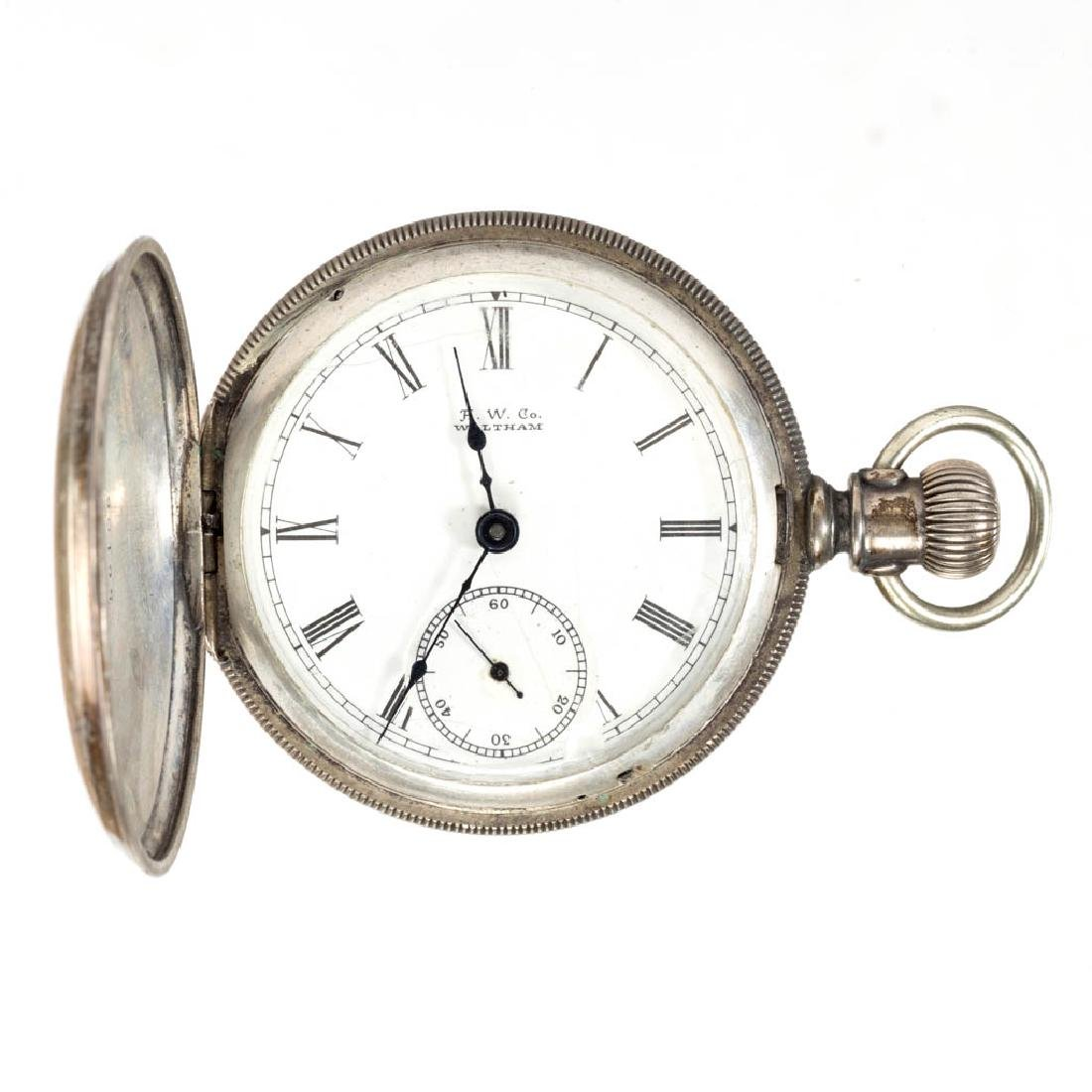 WALTHAM SEVEN-JEWEL MAN'S MODEL 1883 POCKET WATCH