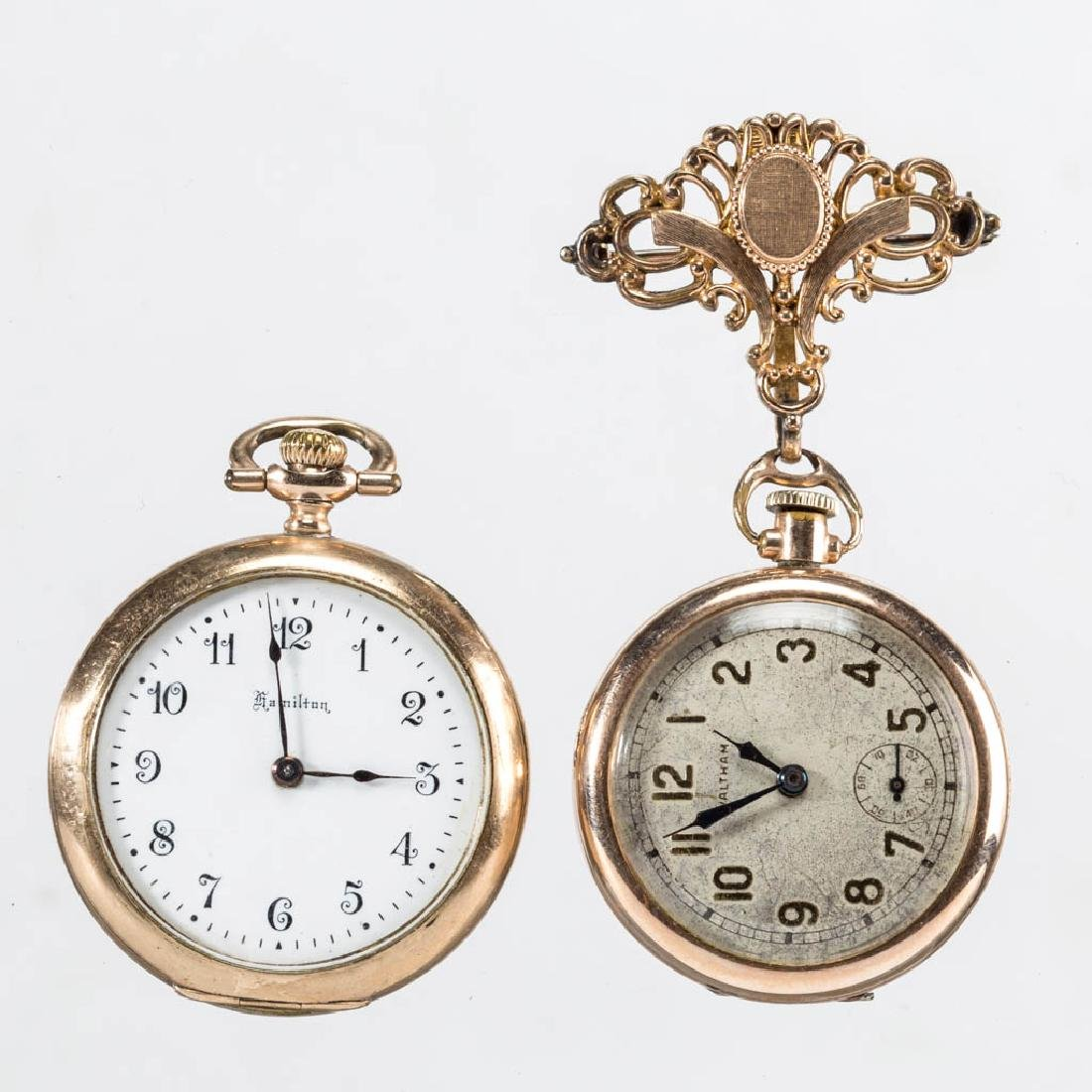 WALTHAM 21-JEWEL LADY'S POCKET WATCH