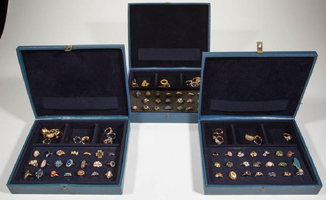VINTAGE AVON COSTUME JEWELRY RINGS