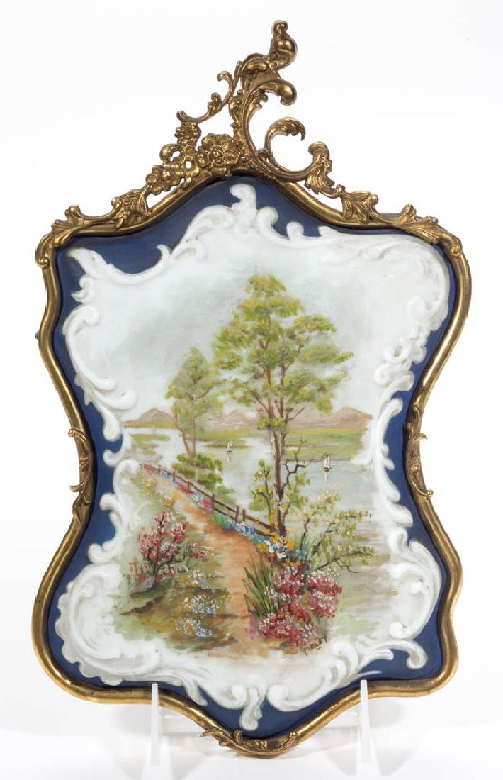 WAVE CREST SCENIC WALL PLAQUE