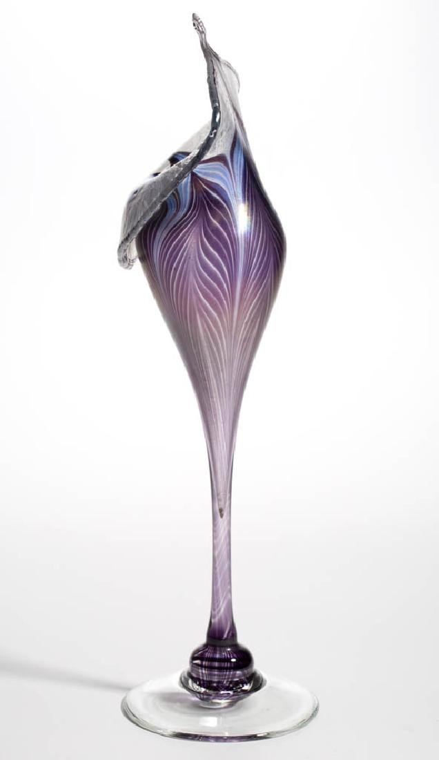 VANDERMARK PULLED FEATHER STUDIO ART GLASS - 2