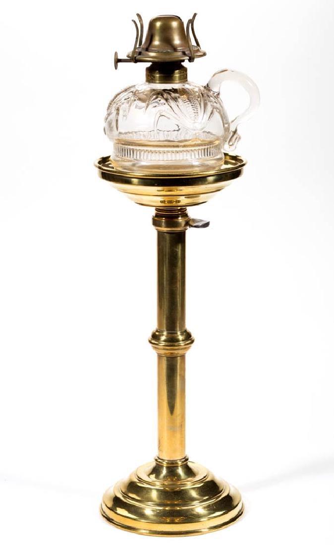 CORN KEROSENE FINGER LAMP